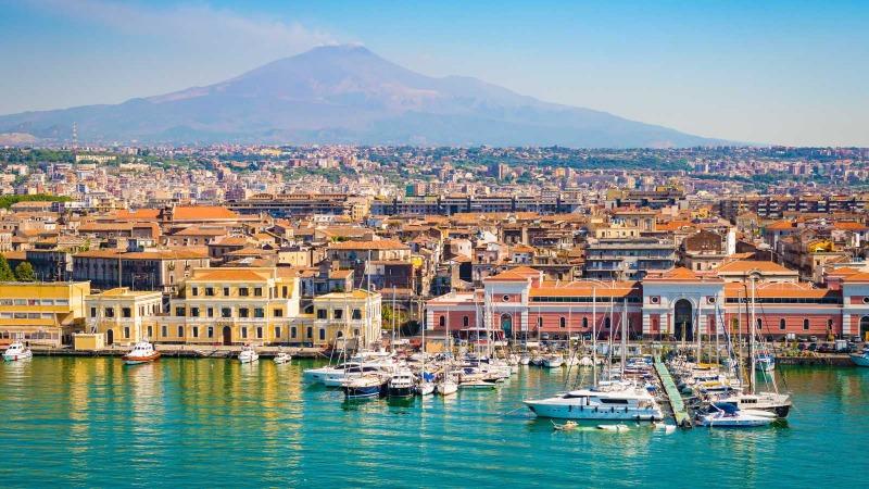 private jet to Catania Fontanarossa