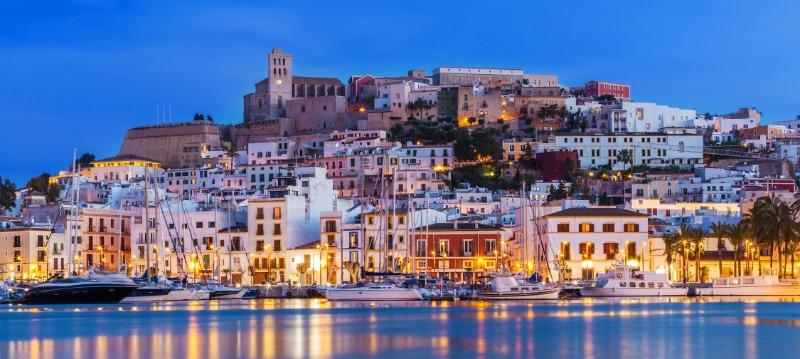 private jet to Ibiza