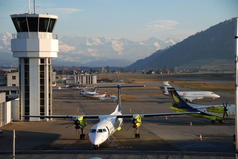 Jet privé à Berne