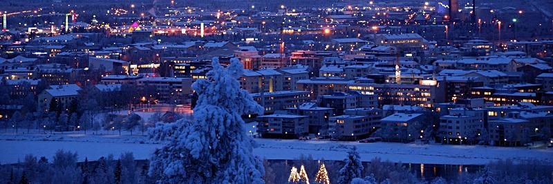 private jet to Rovaniemi